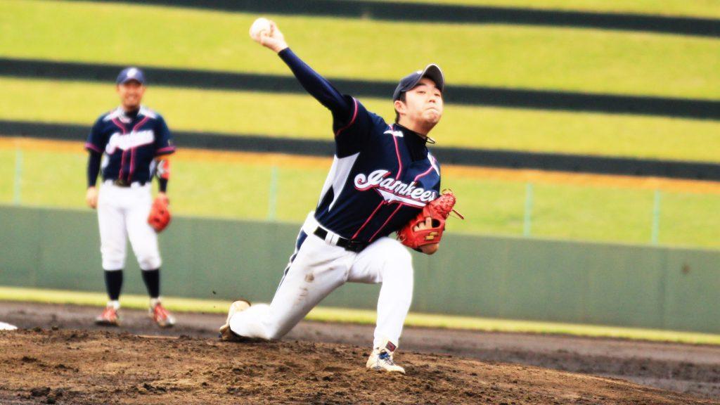ジャンキーズB 酒井投手 本日の勝利投手!