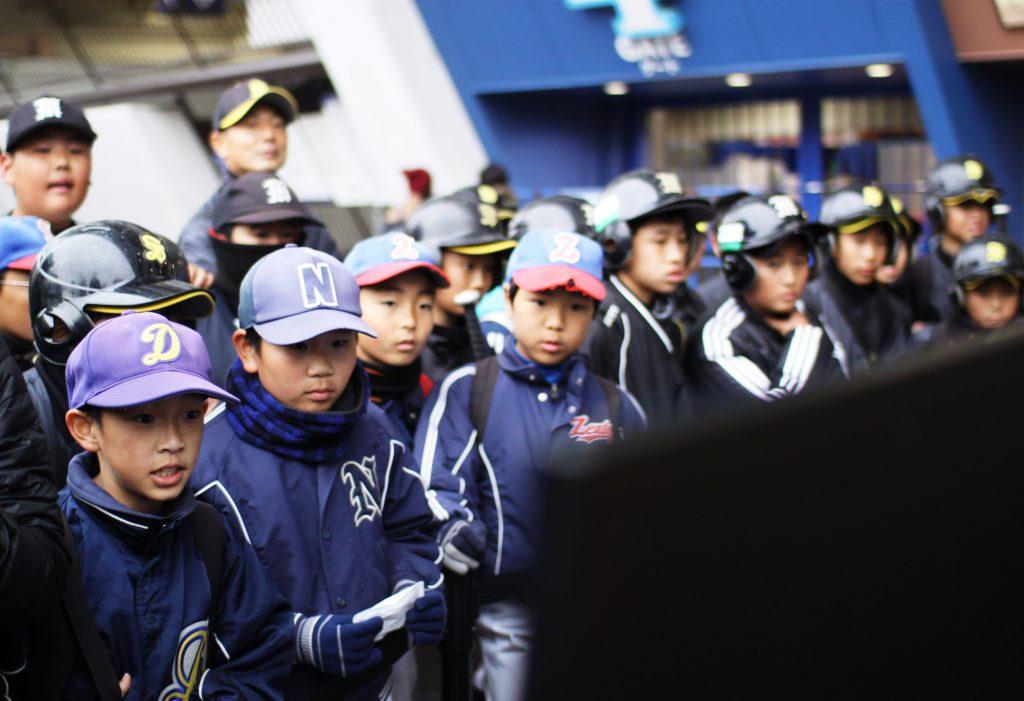 応援の観客
